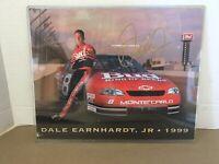 Dale Earnhardt Jr Signed 1999 Nascar Postcard W/ COA