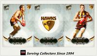 2009 Select AFL Pinnacle Trading Cards Base Team Set Hawthorn (12)