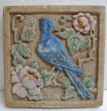 Claycraft Vintage Blue Jay Tile