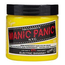 Manic Panic Classic Hair Dye Color Electric Banana Vegan 118ml Manic-Panic