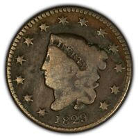 1829 1c Coronet Head Large Cent - Better Date - SKU-Y2396