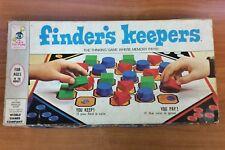 Vintage 1969 Board Game - Finder's Keepers - 100% Complete