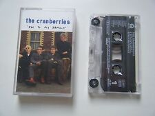 THE CRANBERRIES ODE TO MY FAMILY CASSETTE TAPE SINGLE ISLAND UK 1994