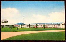 Augusta Wisconsin Postcard Rude's Motel c