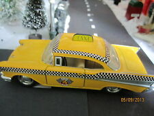 "Train Garden Village House "" Yellow '57 Taxi Cab "" plus+ Dept 56/Lemax Info"