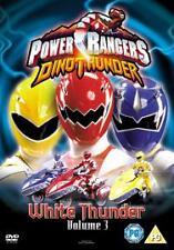 Power Rangers Dino Thunder White Thunder [DVD] - NEW SEALED FREEPOST