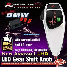 LED Shift Gear Knob with Auto Reverse Hazard LHD For BMW E90 E60 E46 E85 X1 X3