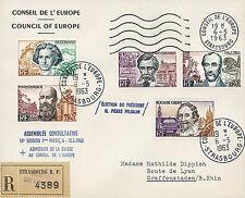 """CE15-IaT2 FDC RECO Conseil Europe """"Élection Président PFLIMLIN, France"""" 05-1963"""