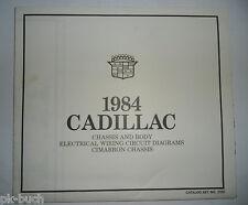 Elektrischer Schaltplan / Wiring Diagram Cadillac Cimarron Chassis Stand 1984