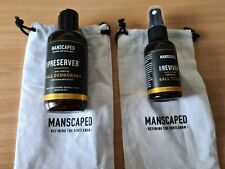 Manscaped Crop Preserver und Crop Reviver mit 2 Taschen