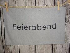 """Fussenegger Silvretta Kissenhülle""""Feierabend""""30x50cm*d-grau*Kissen*Dekokissen"""