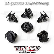 10x Tür Innenverkleidung Befestigungs Clips für Audi VW | 823867299