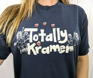 Vintage 80s Totally Kramer Seinfeld Graphic T Shirt - Super soft, Thin, Size XL