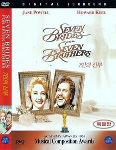 Seven Brides For Seven Brothers (1954) Jane Powell / Howard Keel DVD NEW *FAST S