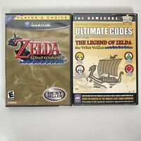 The Legend of Zelda The Wind Waker GameCube 2003 W/Manual + Ultimate Codes