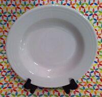 Fiestaware White Rimmed Soup Bowl Fiesta Soup Bowl