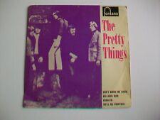 THE PRETTY THINGS - SELF TITLED 4 TRACK EP -1964, FONTANA TE.17434 - PLAYS VG.