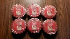 YANKEE CANDLE, TARTS, AUTUMN WREATH, LOT OF 6 TARTS