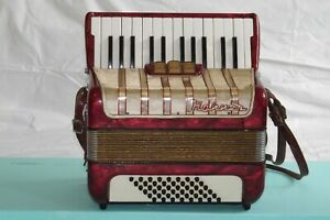 Piano accordion akkordeon  HOHNER CONCERTO I 48 bass