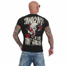 Neues Yakuza Herren Piss Off T-Shirt – Schwarz