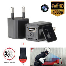 Durable Mini US Plug AC Adapter Camcorder Spy Camera USB Wall Charger 1080P