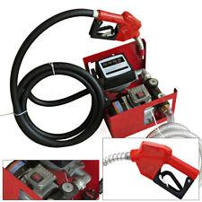 220V 25mm Electric Oil Transfer Pump 60L/Min Fuel Diesel Self-Priming Pump 1''