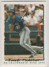 1995 Topps Baseball Toronto Blue Jays Team Set