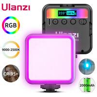 Ulanzi VL49 Magnetic 2000mAh Pocket RGB LED Video Light Vlog Fill Light CRI 95+