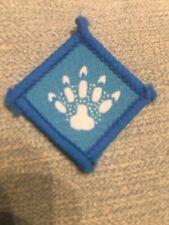 Irish Beaver Scout paw print badge Ireland Scouting Blue Footprint Trail
