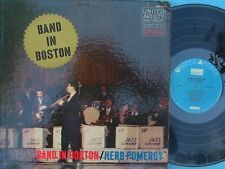 Herb Pomerpy ORIG US LP Band in Boston EX '59 United Artists Jazz Bop Swing