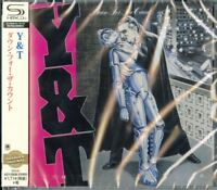 Y&T-DOWN FOR THE COUNT-JAPAN  SHM-CD D50