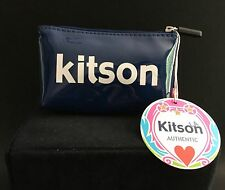 Kitson LA Authentic Cosmetic/Coin Bag Navy NWT