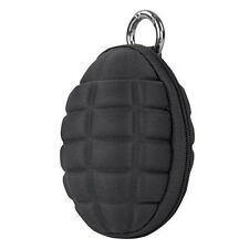 Condor Grenade Keychain Pouch Black - Holds Coins, keys etc #221043