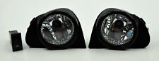 Toyota Echo Highlander MR2 Prius Scion Xa Euro Clear Front Fog Lights Pair RH LH