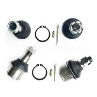 4Pcs Upper & Lower Ball Joints For 2003-2013 Dodge Ram 2500 3500 4wd