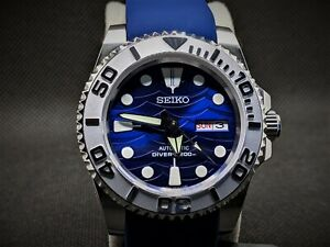 Seiko Yachtmaster Submariner Mod Save the Ocean Great White 40mm NH36 REGULATED