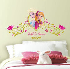 Disney FROZEN ANNA ELSA personalized wall stickers MURAL 146 decals Headboard