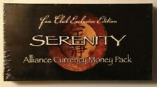 Serenity Fan Club Exclusive Edition Alliance Currency Money Pack Map incl by QMX