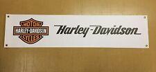 Bike  enthusiasts PVC Garage banner - Harley Davidson