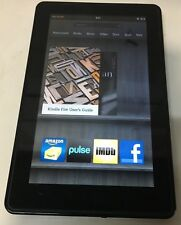 Amazon Kindle Fire 1st Generation 8GB - Wi-Fi - 7in - Black - Works Good