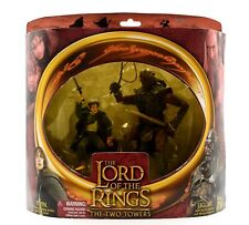 The Lord of the Rings Two Towers - Pippin vs. Ugluk Action Figure 2-Pack Set