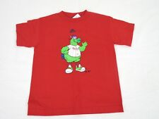 MLB Adidas Children T Shirt Size Large 7 Phillies  Red New