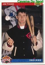 005 JIM THOME SR CLEVELAND INDIANS  BASEBALL CARD UPPER DECK 1992