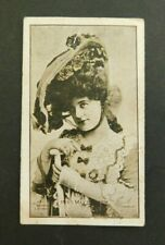 Cigarette Card Sniders & Abrahams 1904 Actresses (Talma) Ser II Miss May Beatie