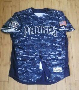 2019 San Diego Padres Game Used Camo Jersey - Josh Naylor