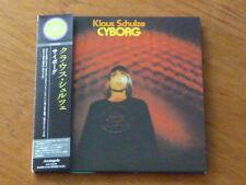 Klaus Schulze: Cyborg Japan 2 CD Mini-LP ARC-7264/65 M (ashra dream tangerine Q