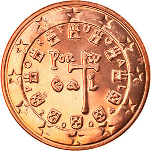 [#819605] Portugal, 5 Euro Cent, 2004, Lisbonne, FDC, Copper Plated Steel, KM:74