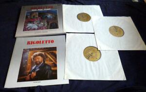 3xLP Vinyl VERDI Rigoletto Weikl Lucia Popp Aragall Lamberto Gardelli Chor BR MR