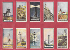 WILLS  NEW  ZEALAND  -  VERY  RARE  SET  OF  50  LIGHTHOUSES  CARDS  -  1926