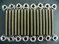 For Ford 4.6 & 5.4 Liter V8 Stainless Exhaust Manifold Stud Kit for 2 Manifolds